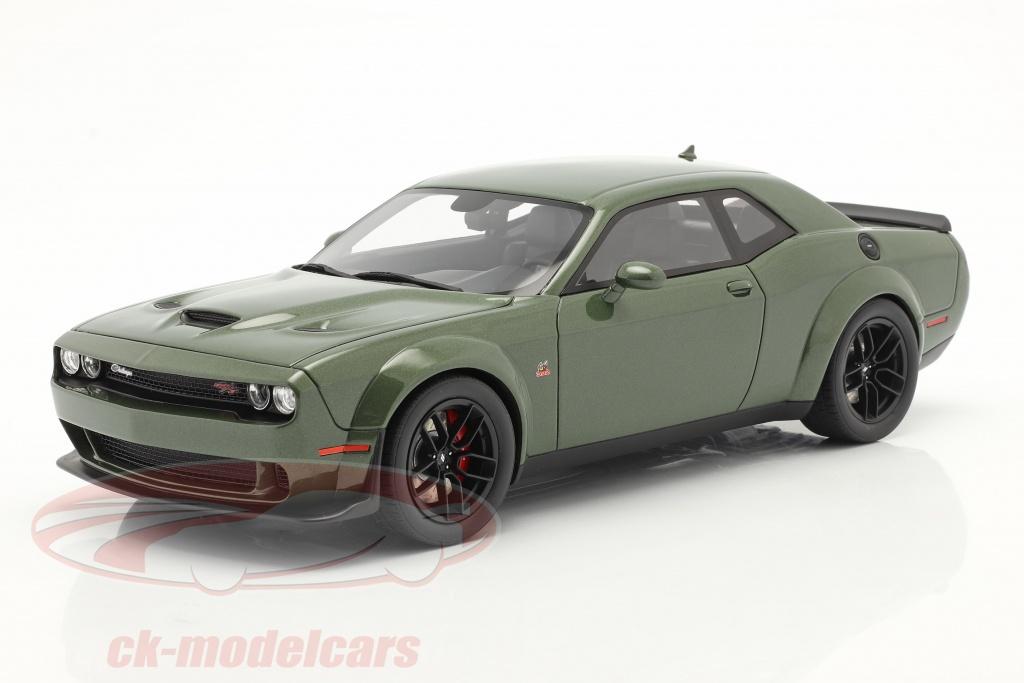 gt-spirit-1-18-dodge-challenger-r-t-coupe-bouwjaar-2019-groen-metalen-gt815/