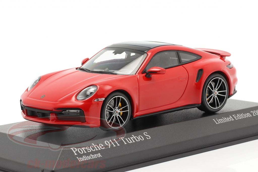 minichamps-1-43-porsche-911-992-turbo-s-2020-bewakers-rood-zilver-velgen-413069478/