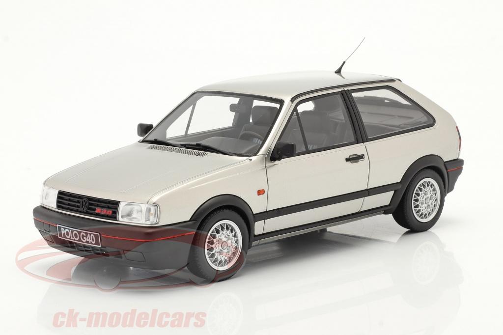 ottomobile-1-18-volkswagen-vw-polo-mk2-g40-anno-di-costruzione-1994-diamante-argento-ot856/