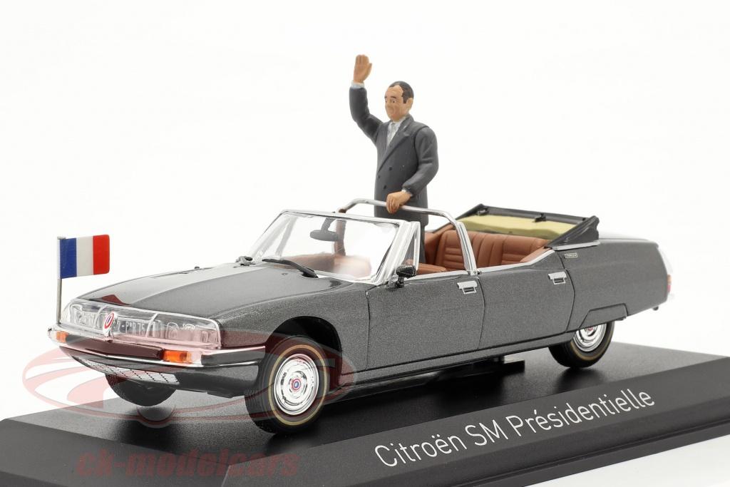 norev-1-43-citroen-sm-presidentielle-open-cabriolet-1995-gris-metalico-158706/