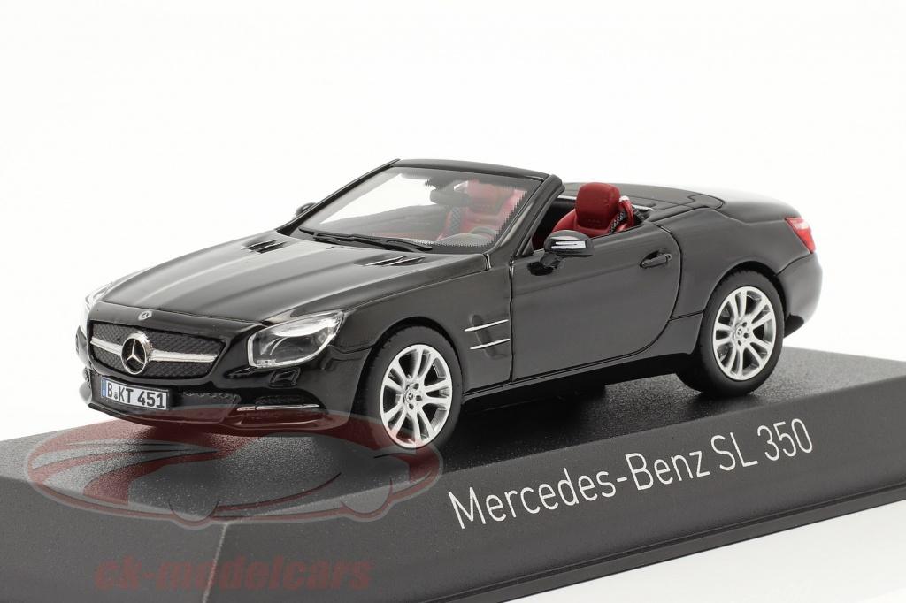 norev-1-43-mercedes-benz-sl-350-roadster-annee-de-construction-2012-noir-351351/