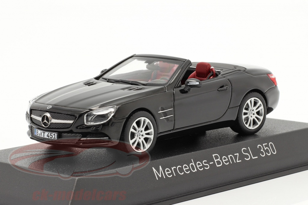 norev-1-43-mercedes-benz-sl-350-roadster-bygger-2012-sort-351351/