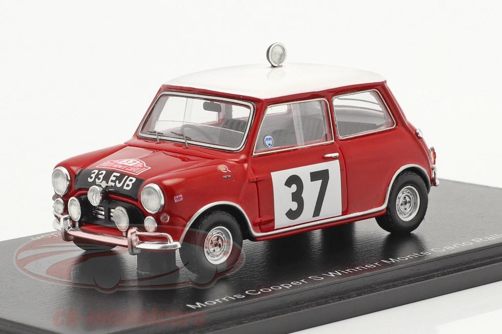 spark-1-43-morris-cooper-s-no37-ganador-rallye-monte-carlo-1964-hopkirk-liddon-s4890/