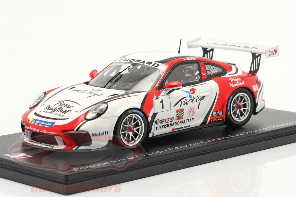 spark-1-43-porsche-911-gt3-cup-no1-champion-porsche-carrera-cup-france-2019-sf108/
