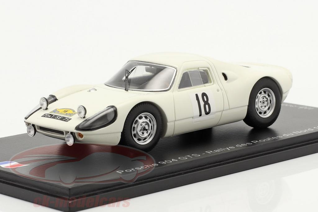 spark-1-43-porsche-904-carrera-gts-no18-rallye-des-routes-du-nord-1966-sf166/