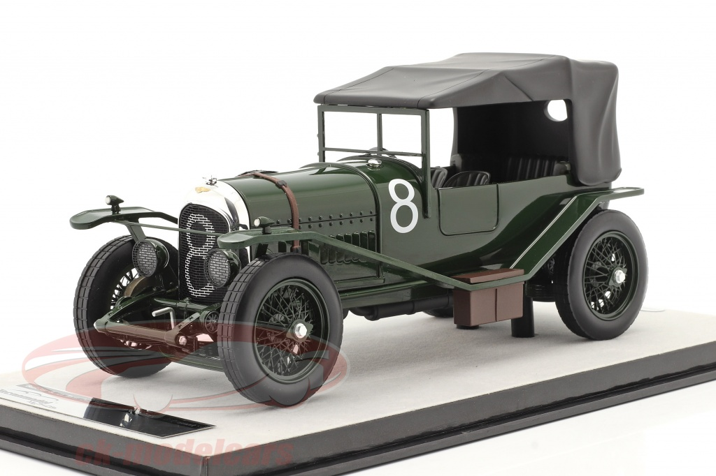 tecnomodel-1-18-bentley-3l-sport-closed-no8-winner-24h-lemans-1924-duff-clement-tm18-204b/