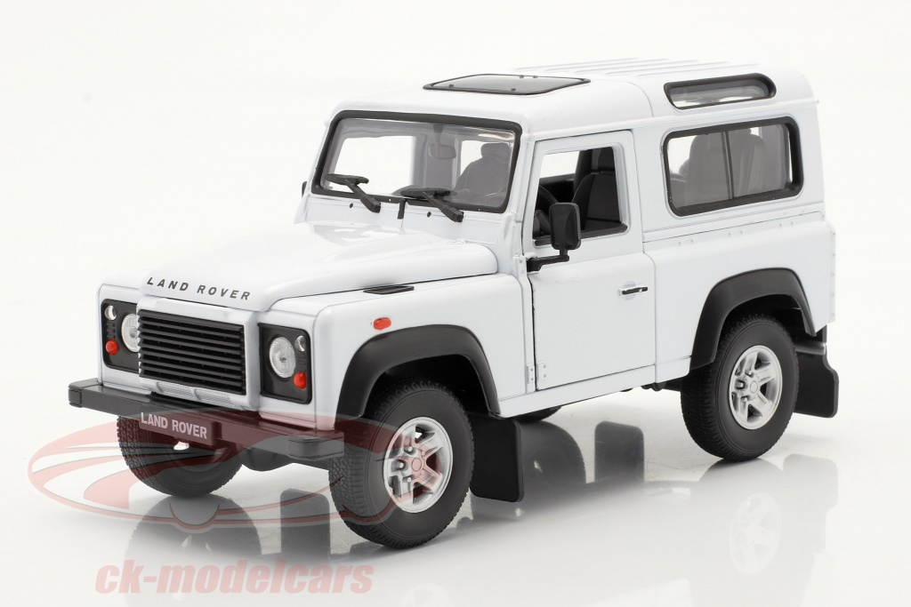welly-1-24-land-rover-defender-hvid-22498w/