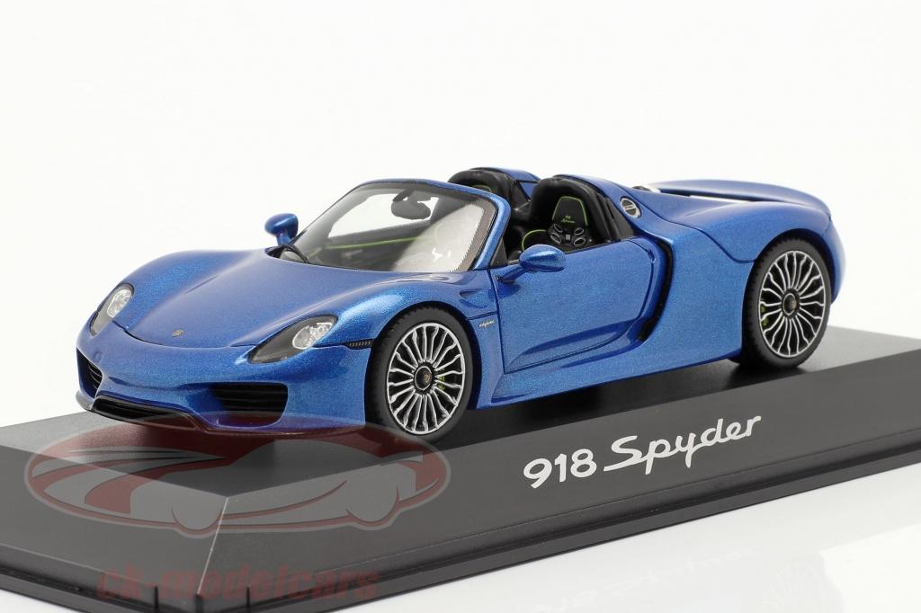 spark-1-43-porsche-918-spyder-jaar-2014-blauw-metalen-map02019315/