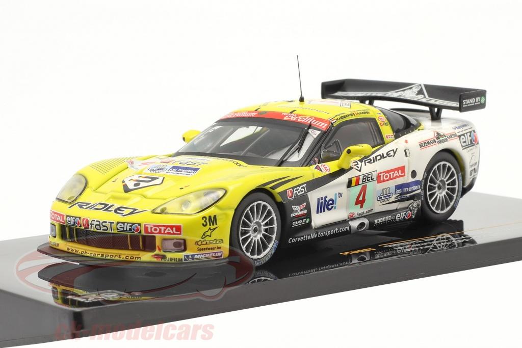 ixo-1-43-chevrolet-corvette-z06-no4-ganador-24-spa-2009-gtm085/