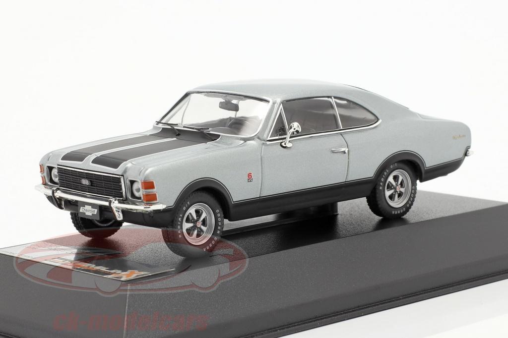 ixo-1-43-chevrolet-opala-ss-annee-1976-gris-noir-premium-x-prd216/
