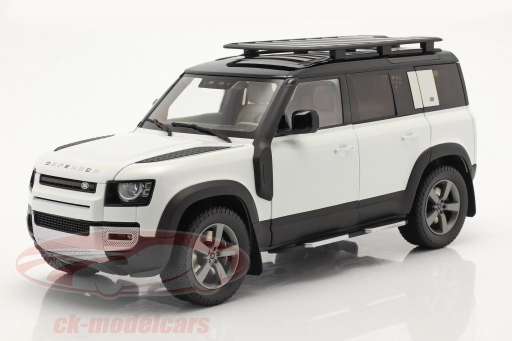 almost-real-1-18-land-rover-defender-110-med-tagbjler-2020-fuji-hvid-alm810807/