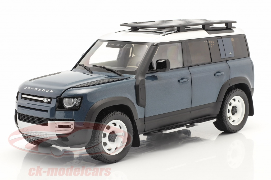 almost-real-1-18-land-rover-defender-110-con-portapacchi-2020-tasman-blu-alm810802/