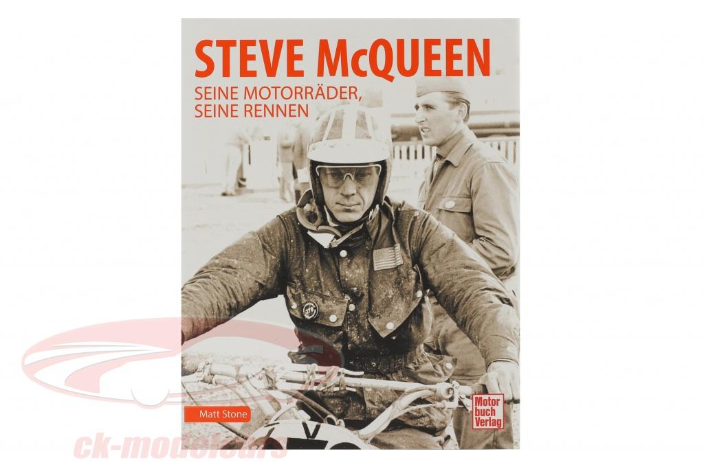 libro-steve-mcqueen-il-suo-motociclette-il-suo-gare-978-3-613-04329-9/