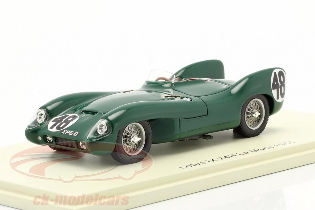 spark-1-43-lotus-ix-no48-24h-lemans-1955-chapman-flockhart-s4397/