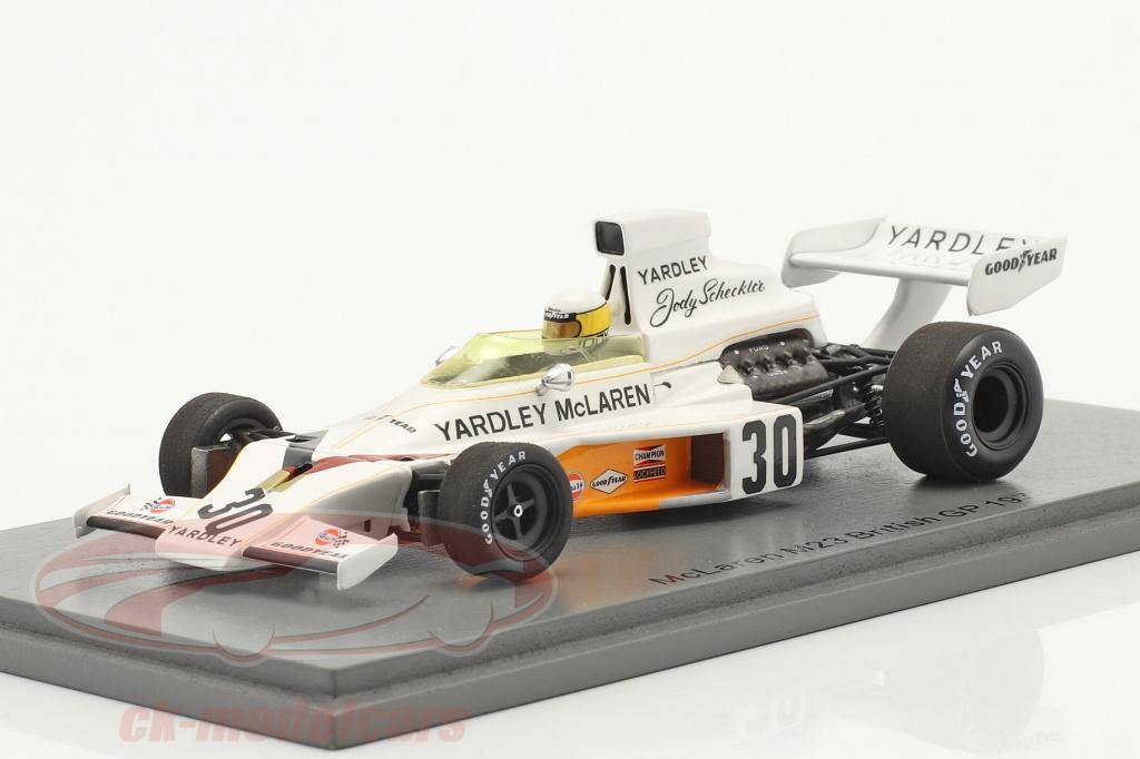 spark-1-43-jody-scheckter-mclaren-m23-no30-british-gp-formula-1-1973-s5736/