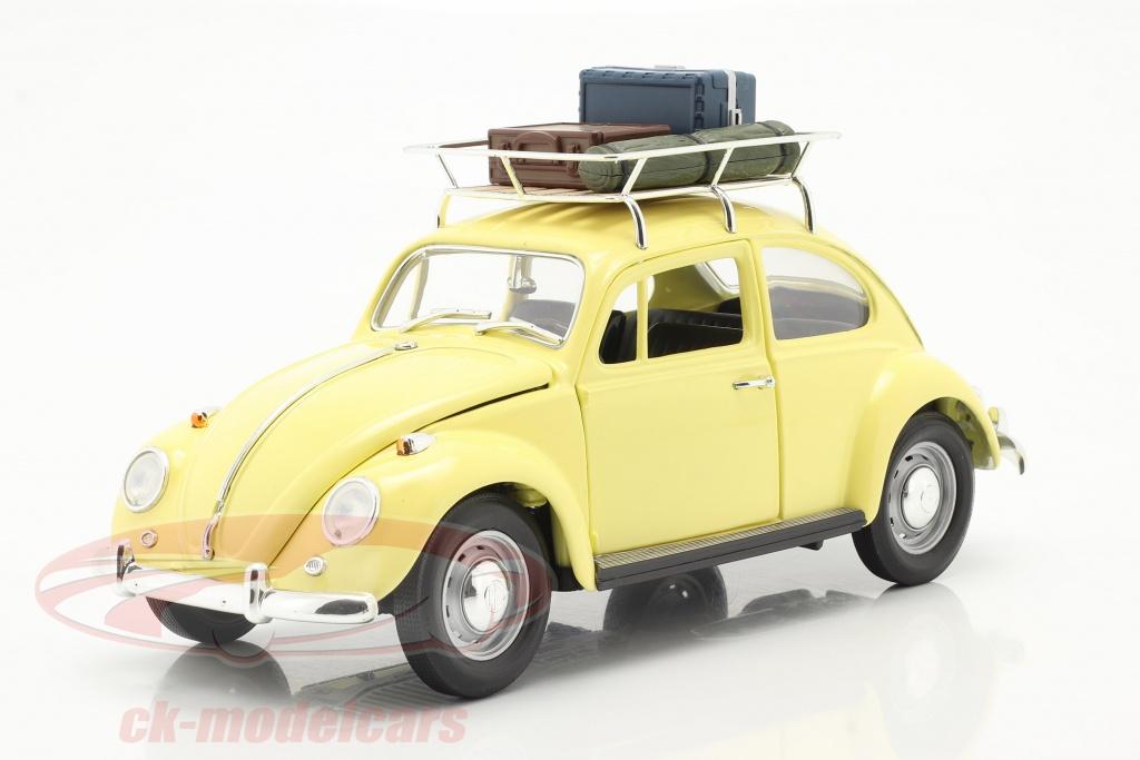 lucky-diecast-1-18-volkswagen-vw-scarabee-camping-version-annee-de-construction-1967-jaune-92078ay/