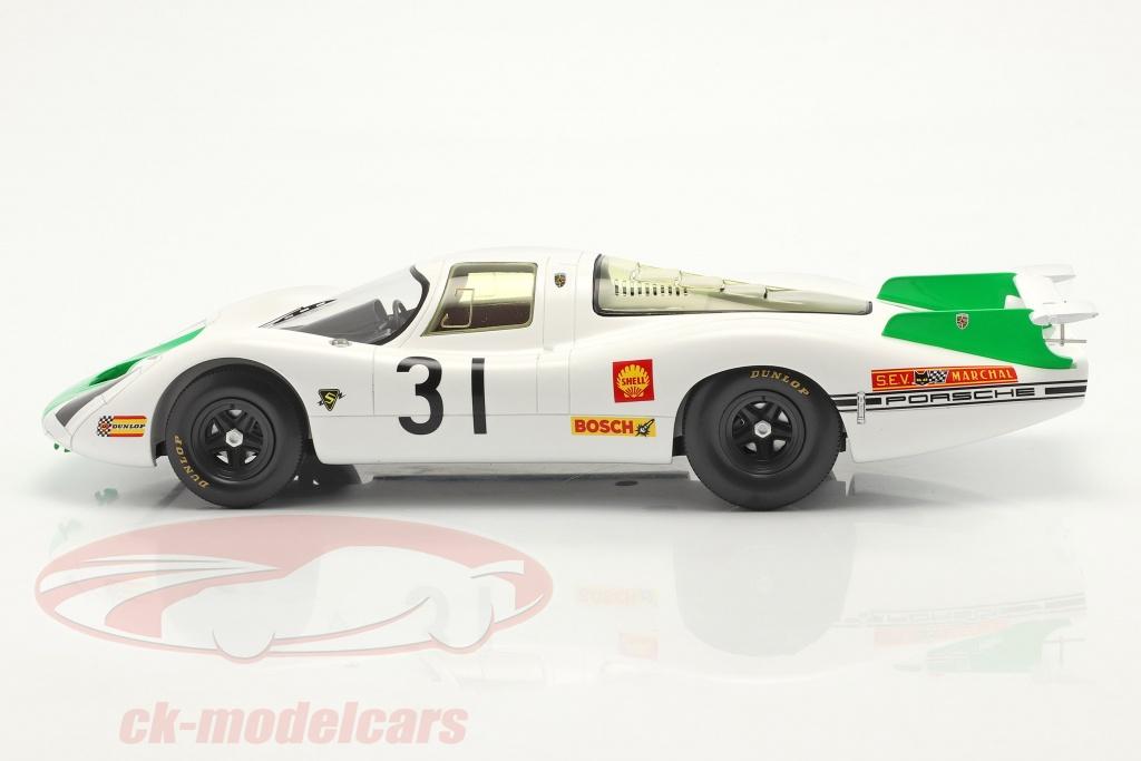 Porsche 908 #52 2Nd Daytona 1968 Siffert-Herrmann-Mitter 1:43 Spark S2985 Model