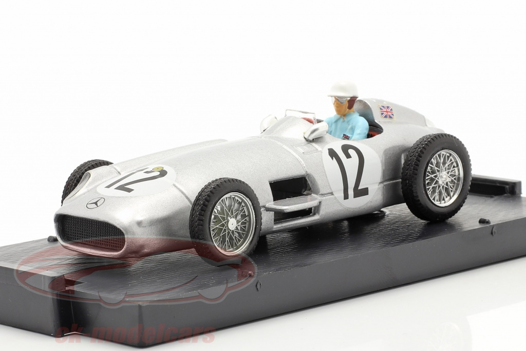 brumm-1-43-stirling-moss-mercedes-benz-w196-no12-winnaar-brits-gp-formule-1-1955-r072c-ch/
