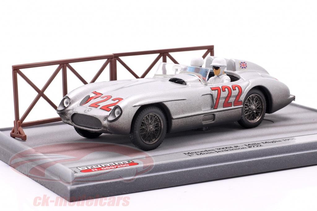 brumm-1-43-mercedes-benz-300-slr-no722-winner-mille-miglia-1955-moss-jenkinson-s20-17/
