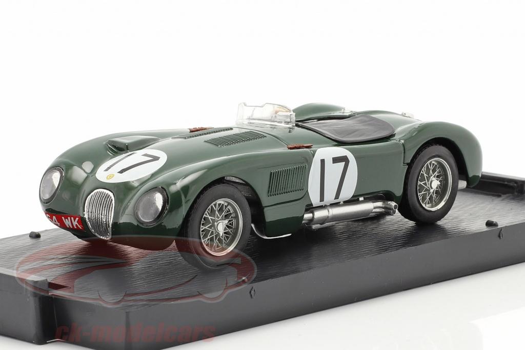 brumm-1-43-jaguar-c-type-no17-2-plads-24h-lemans-1953-moss-walker-r358b/