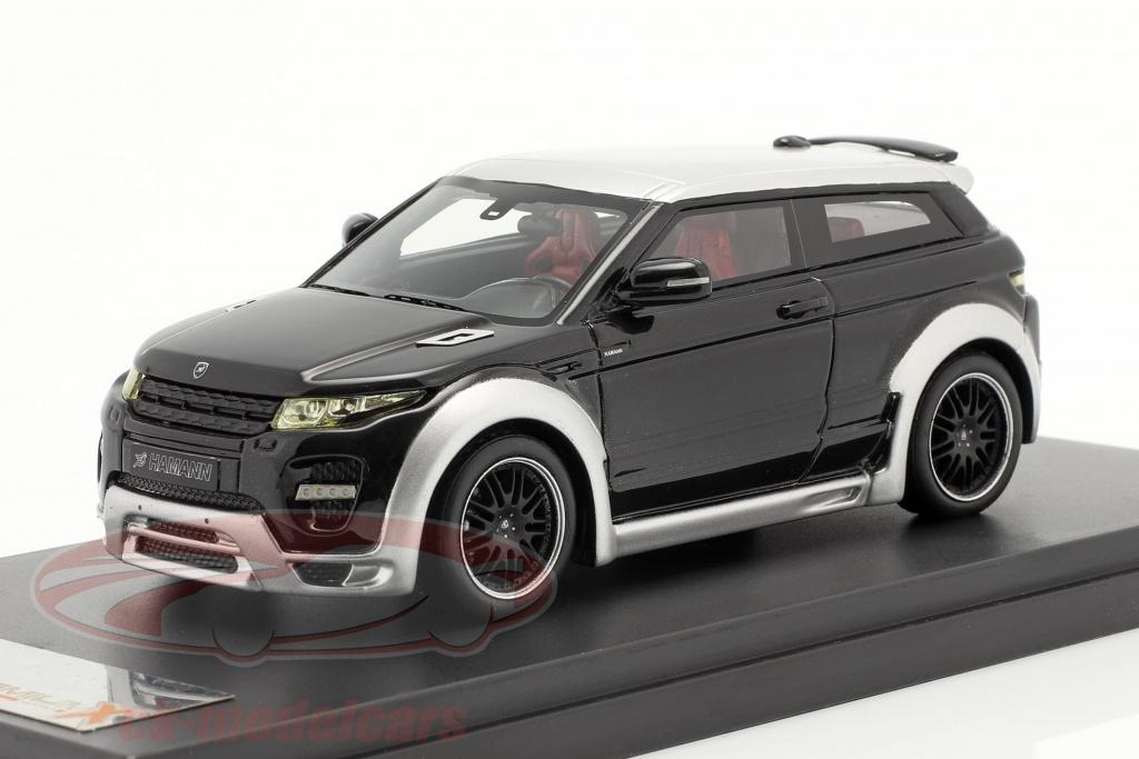 premium-x-1-43-range-rover-evoque-da-hamann-anno-2012-nero-argento-pr0274/