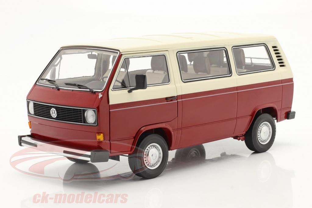 schuco-1-18-volkswagen-vw-t3a-transporter-red-cream-white-450038100/