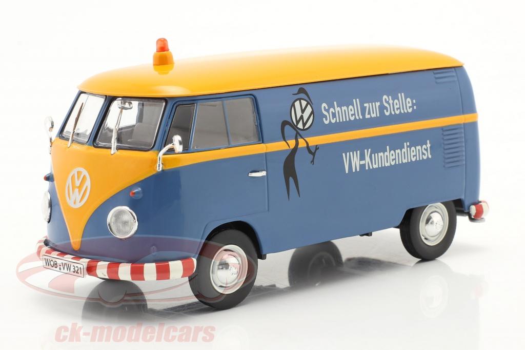 schuco-1-32-volkswagen-vw-type-2-t1b-van-vw-customer-service-blue-yellow-450785500/