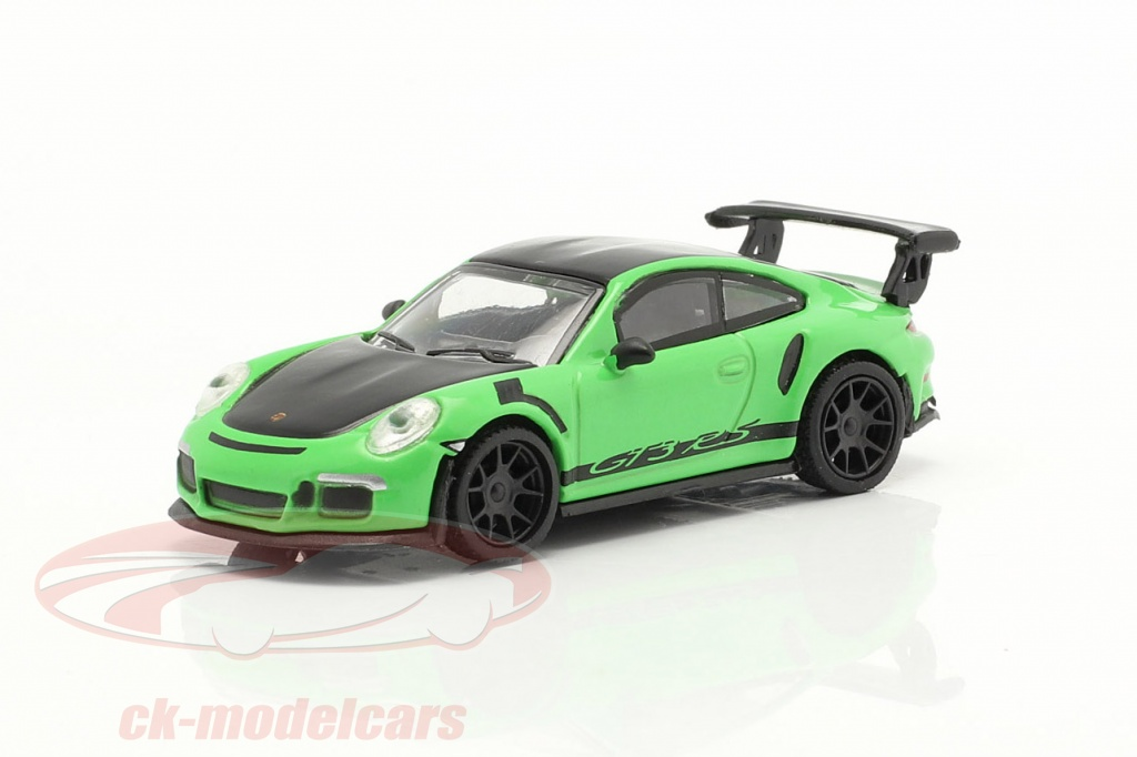 schuco-1-87-porsche-911-991-gt3-rs-groen-zwart-452660000/