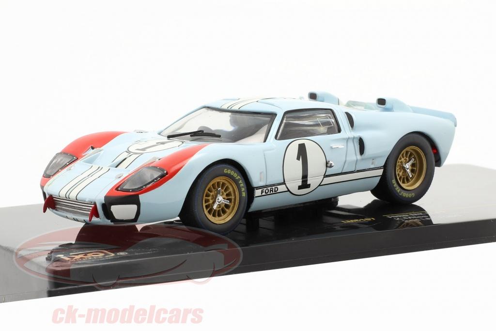 ixo-1-43-ford-mk-ii-no1-24h-lemans-1966-miles-hulme-lmc107/