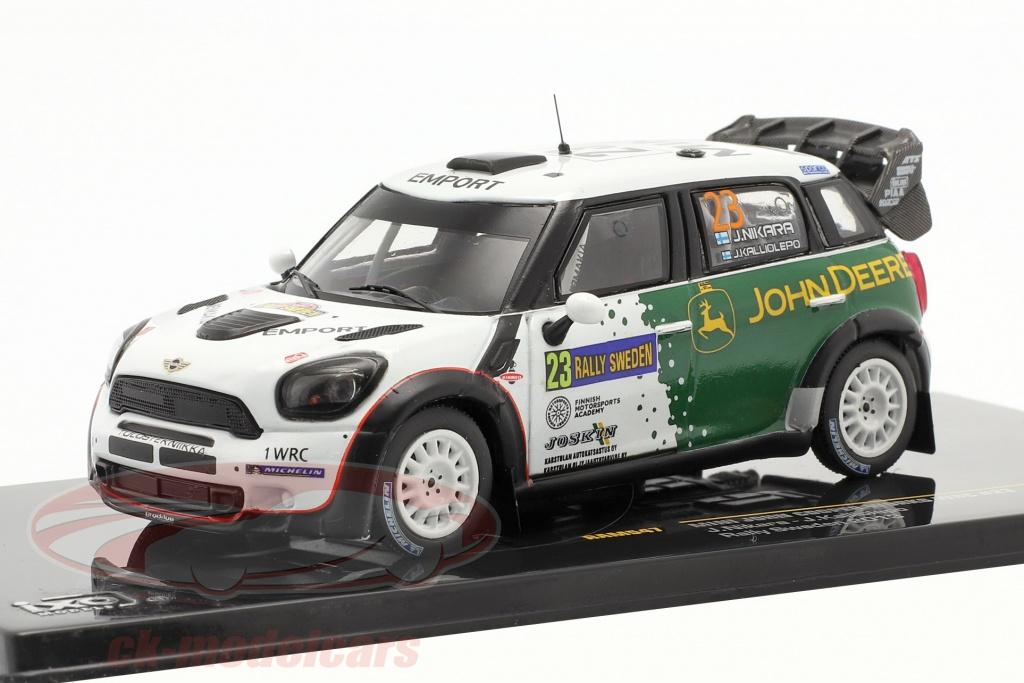 ixo-1-43-mini-john-cooper-works-wrc-no23-se-rallier-schweden-2013-nikara-kalliolepo-ram547/