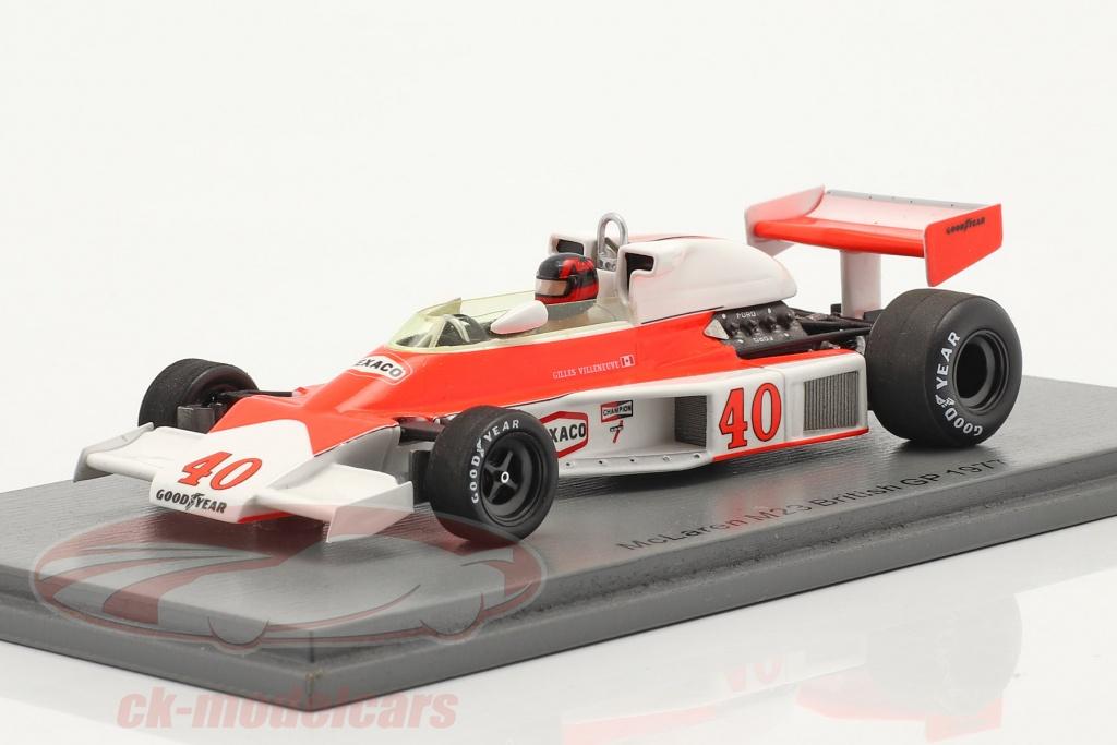 spark-1-43-gilles-villeneuve-mclaren-mcl23-no40-brits-gp-formule-1-1977-s5744/