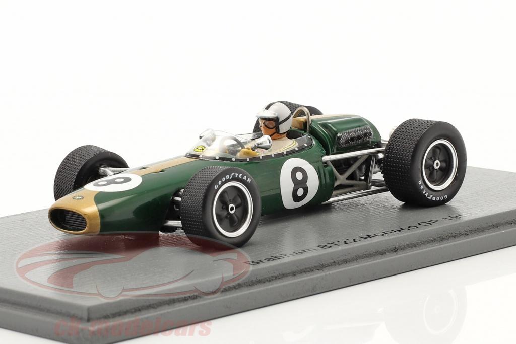 spark-1-43-denis-hulme-brabham-bt22-no8-monaco-gp-formula-1-1966-s7091/