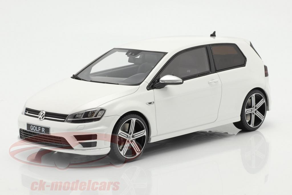 ottomobile-1-18-volkswagen-vw-golf-vii-r-bygger-2014-hvid-ot883/