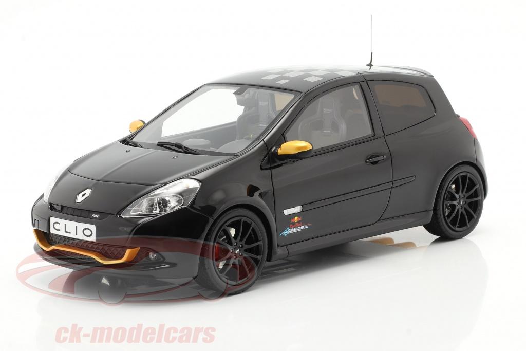 ottomobile-1-18-renault-clio-3-rs-rb7-bouwjaar-2012-zwart-ot884/