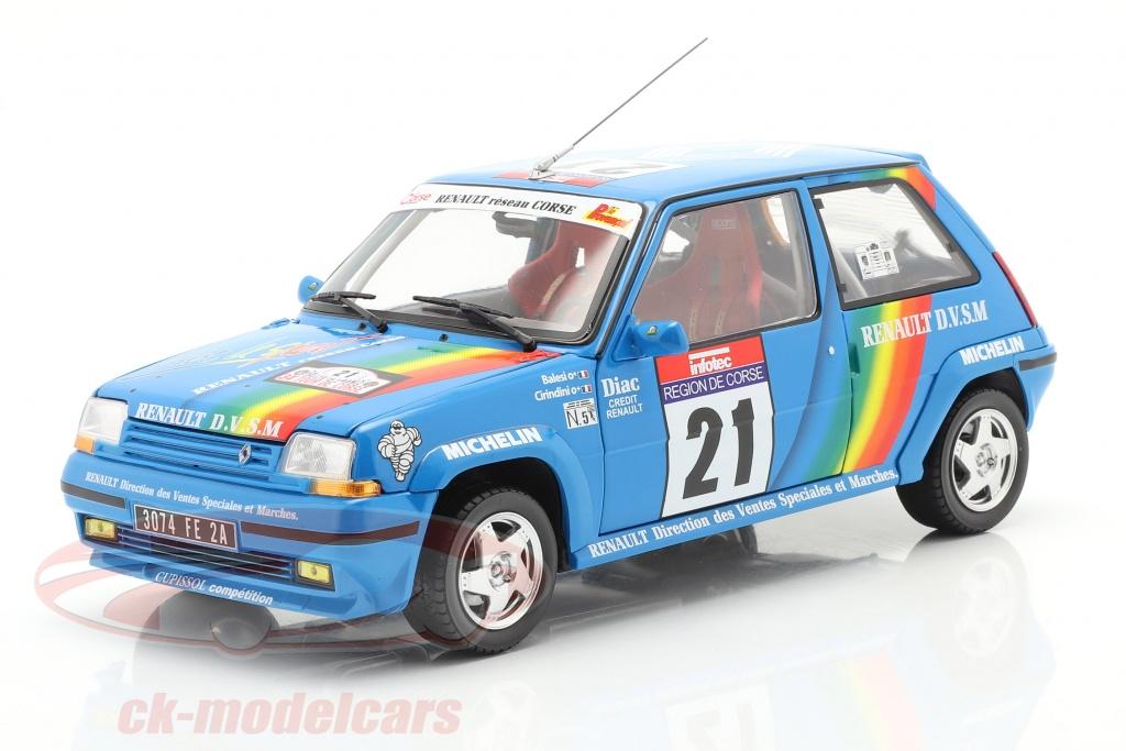 norev-1-18-renault-supercinq-gt-turbo-no21-tour-de-corse-1990-cirindini-balesi-185217/