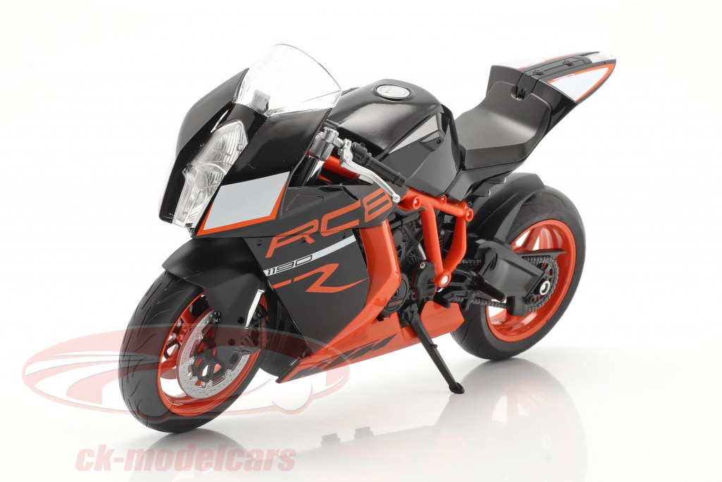 welly-1-10-ktm-1190-rc8-r-sort-orange-62806r-w/