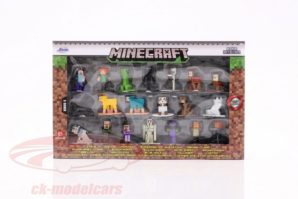 minecraft-set-20-personaggi-serie-5-s-la-toys-253265004/