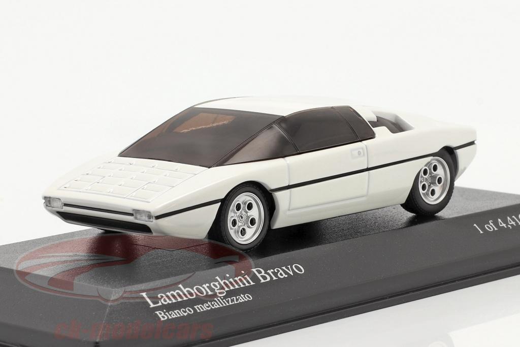 minichamps-1-43-lamborghini-bravo-year-1974-repainted-2005-white-metallic-400103670/