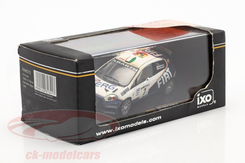 ixo-1-43-fiat-punto-s2000-no7-rally-mille-miglia-2006-andreucci-andreussi-2-scelta-ck67873-2-wahl/