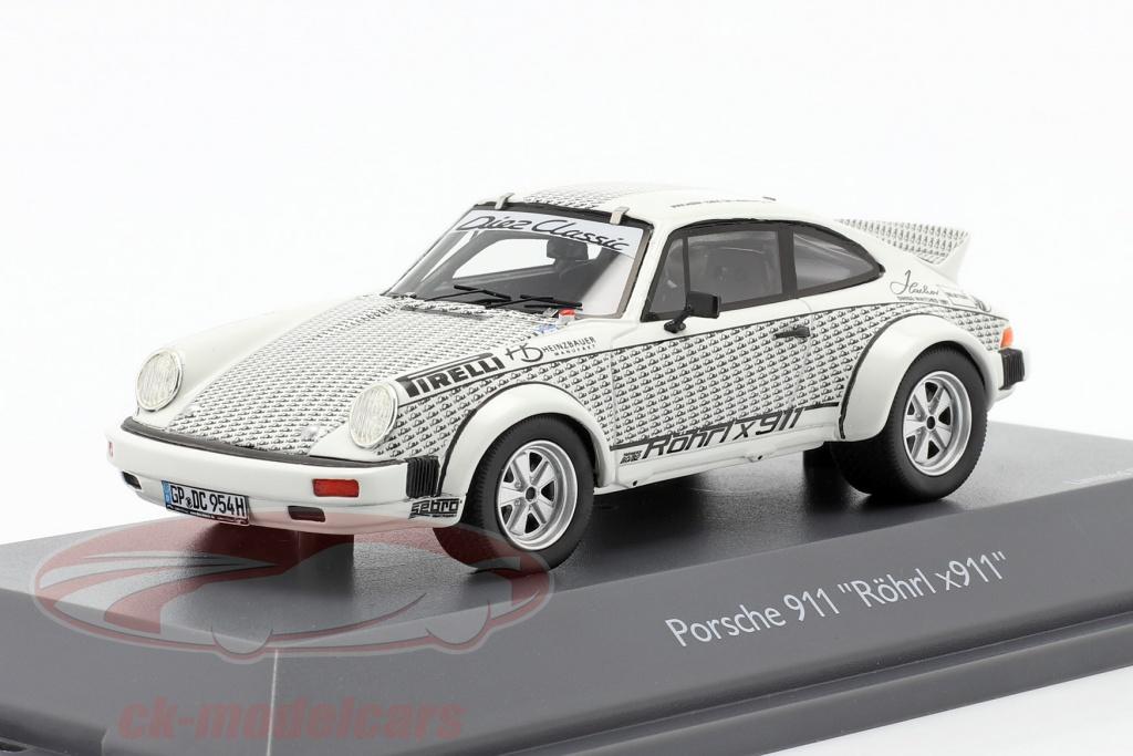 schuco-1-43-porsche-911-walter-roehrl-x911-wit-zwart-450912000/