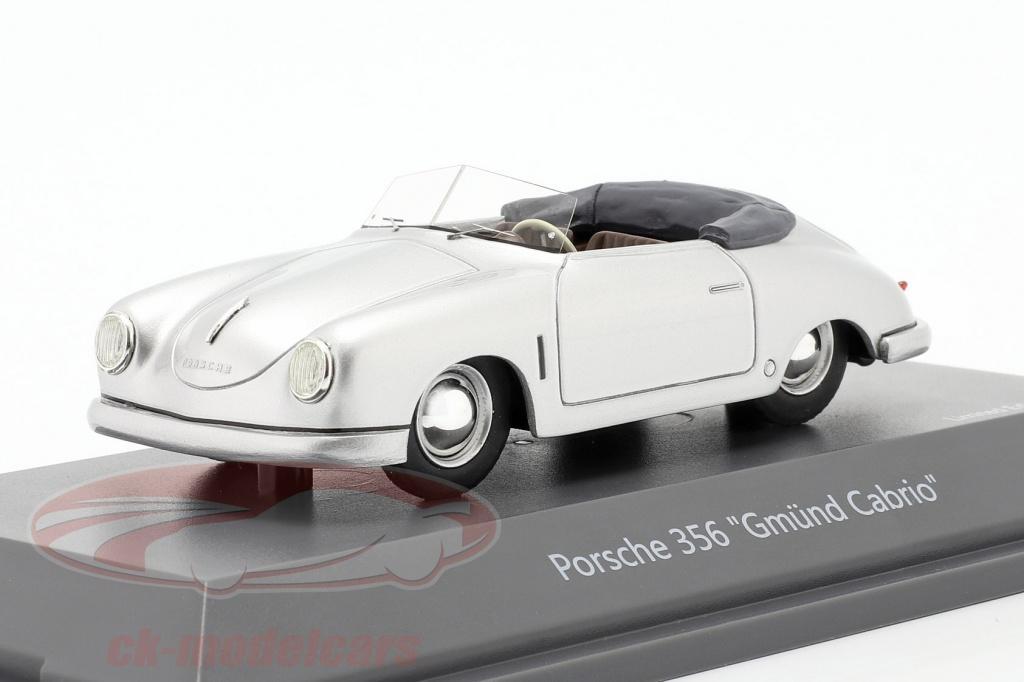 schuco-1-43-porsche-356-gmuend-convertible-argent-450913100/