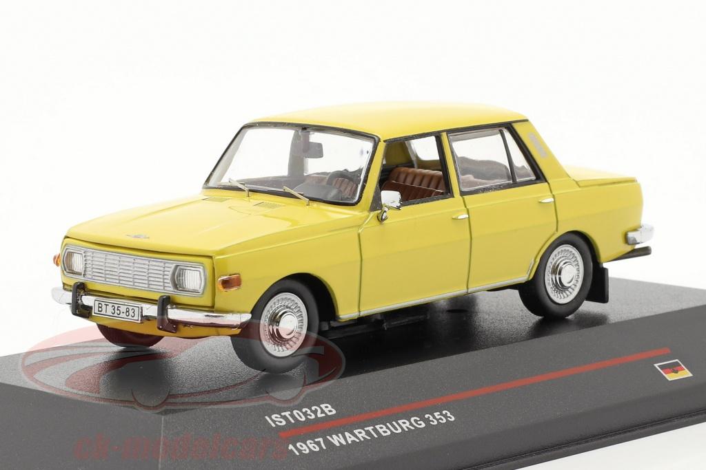 ist-models-1-43-wartburg-353-jaar-1967-geel-ist032b/