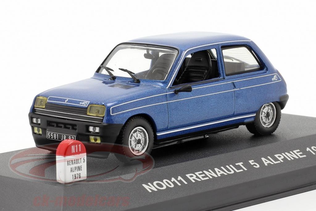 nostalgie-1-43-renault-5-alpine-baujahr-1976-blau-no011/