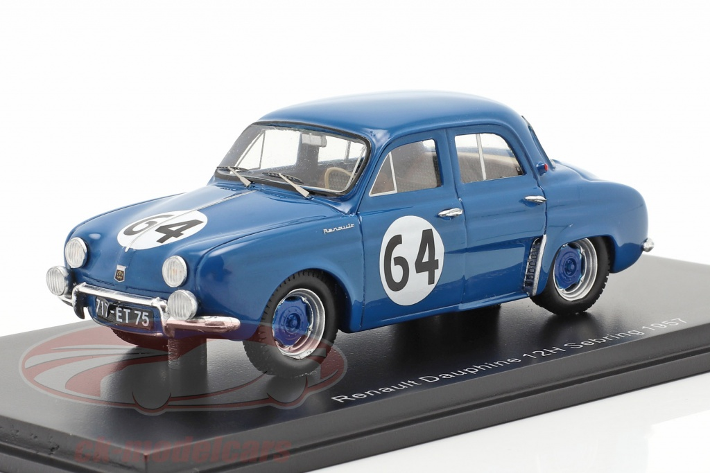 spark-1-43-renault-dauphine-no64-gagnant-classe-t10-12h-sebring-1957-s5218/