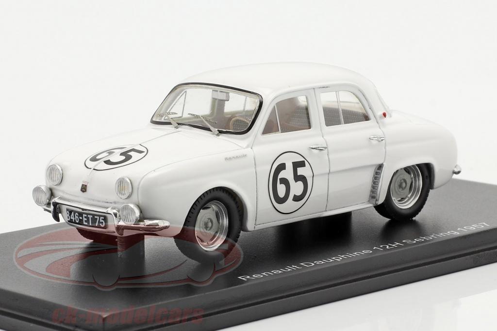spark-1-43-renault-dauphine-no65-12h-sebring-1957-thirion-ferrier-spydel-s5219/