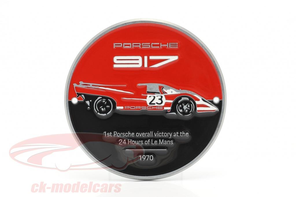plaque-grille-porsche-917k-salzburg-no23-gagnant-24h-lemans-1970-wap0509170mszg/
