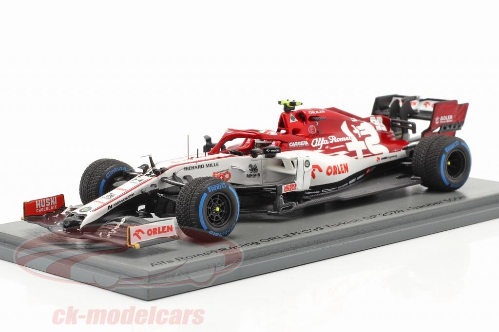 spark-1-43-antonio-giovinazzi-alfa-romeo-racing-c39-no99-tyrkisk-gp-formel-1-2020-s6493/