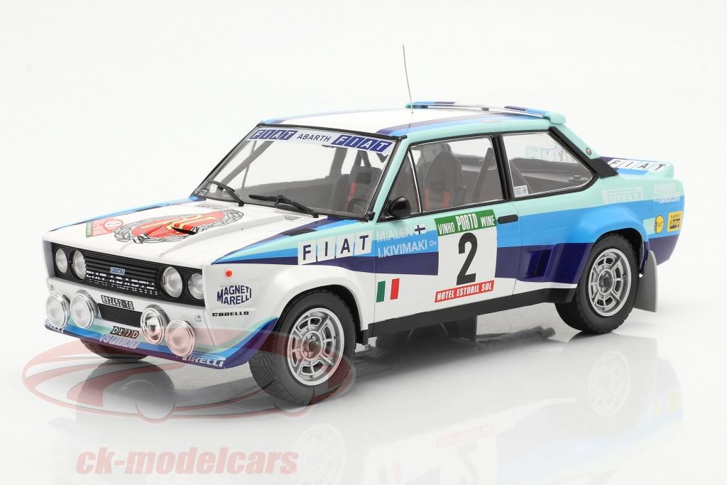 ixo-1-18-fiat-131-abarth-no2-2nd-rallye-portugal-1980-alen-kivimaki-18rmc053a/