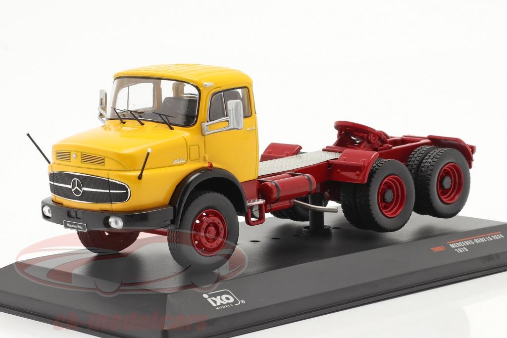 ixo-1-43-mercedes-benz-ls-2624-baujahr-1979-gelb-dunkelrot-tr087/