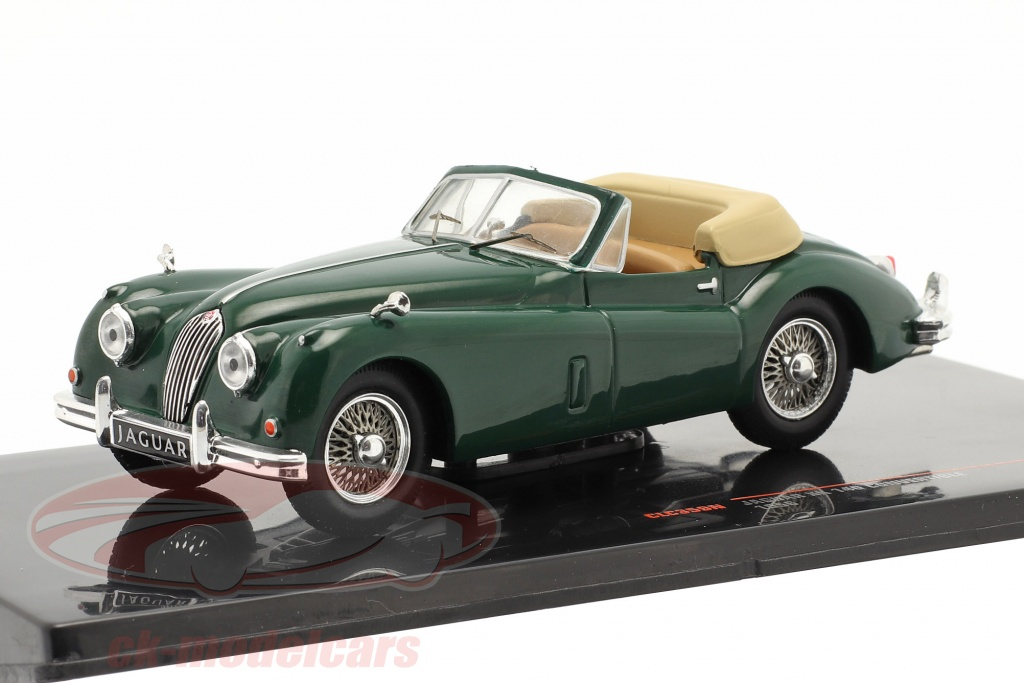 ixo-1-43-jaguar-xk-140-dhc-rhd-annee-de-construction-1956-vert-fonce-clc359n/